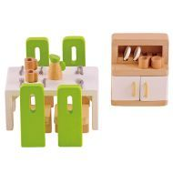 Hape Dining Room - Dollhouse Furniture