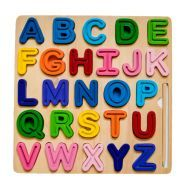 ABC (Uppercase) Chunky and Tracing Puzzle