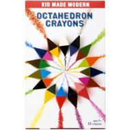 Kid Made Modern - Octahedron Crayons