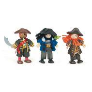 Le Toy Van Buccaneers Pirate Budkins Set