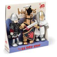 Le Toy Van Budkins Knights Triple Pack