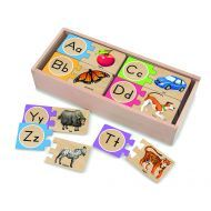 Melissa and Doug - Alphabet Wooden Puzzle Cards