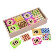 Melissa and Doug - Numbers Wooden Puzzle Cards
