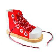 Melissa and Doug Wooden Lacing Sneaker