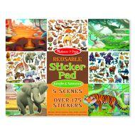 Melissa and Doug Reusable Sticker Pad – Jungle & Savanna