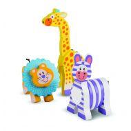 Melissa and Doug - First Play - Safari Grasping Toys