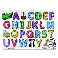 Melissa & Doug Peg Puzzle - See-Inside Alphabet