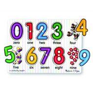 Melissa & Doug Peg Puzzle - Numbers