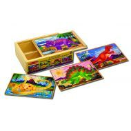 Melissa and Doug Dinosaurs Puzzles in a Box