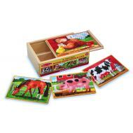 Melissa and Doug Farm Puzzles In A Box