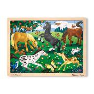 Melissa & Doug - Frolicking Horses Jigsaw - 48pc