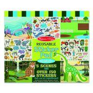 Melissa and Doug Habitats Reusable Sticker Book