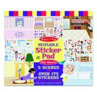 Melissa and Doug Reusable Sticker Pad - Play House