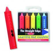 Melissa and Doug Learning Mat Crayons