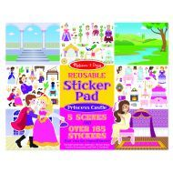 Melissa and Doug Reusable Stickers - Castle