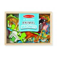 Melissa and Doug Animal Magnets In A Box of 20