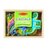 Melissa and Doug Dinosaur Magnets In A Box of 20