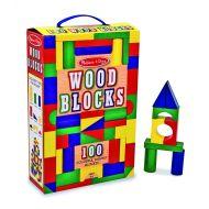 Melissa and Doug 100 Wood Block Set