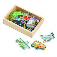 Melissa and Doug Magnetic Wooden Vehicles