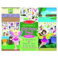 Melissa and Doug Reusable Sticker Pad - Fairies