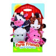 Melissa and Doug Hand Animal Puppets – Farm