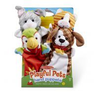 Melissa and Doug Hand Animal Puppets – Pets