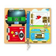 Melissa and Doug Lock and Latch Board