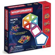 Genuine MAGFORMERS -  Magnetic Construction Set 62 Pcs