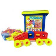 Mobilo Construction Toy - Standard Bucket 104 Pcs