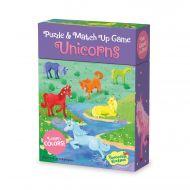 Match Up Game & Puzzle - Unicorn