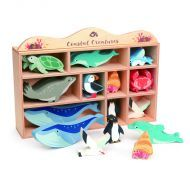 Tender Lear Wooden Coastal Animals