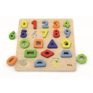 Number, Block And Shape Puzzle