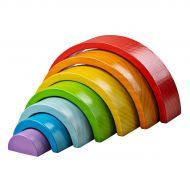 Small Wooden Stacking Rainbow