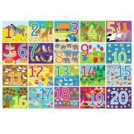 1-20 Number Floor Puzzle