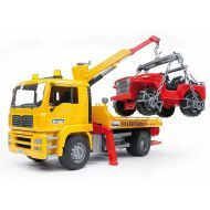 Bruder -MAN TGA Breakdown truck with cross country vehicle