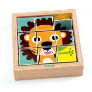 Djeco Touranimo Wooden Animal Puzzle