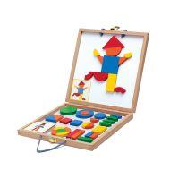 Djeco Geoform Magnetic Puzzle