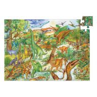 Djeco Dinosaurs Observation Puzzle 100pce