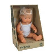 Miniland Doll Caucasian Boy, 38 cm