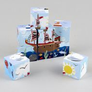 Pirate Wooden Block Puzzle
