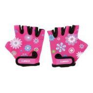 Globber Gloves - Flowers Pink