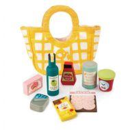 Tender Leaf Grocery Bag with Groceries