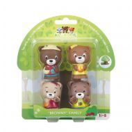 The Klorofil Browny Family Set of 4