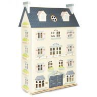 Le Toy Van Palace Dolls House and Daisylane Furniture Package