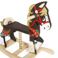 Petilou Traditional Rocking Horse