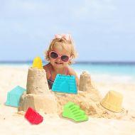 6 Piece Sand Play Set - Building