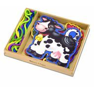 Melissa and Doug Lace & Trace Farm Animals