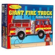 Melissa and Doug Giant Fire truck Floor Puzzle 24 Pieces