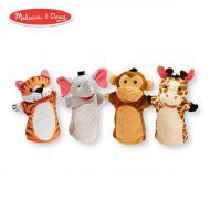 Melissa and Doug Hand Animal Puppets – Zoo