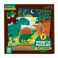 Magnetic Puzzle - Dinosaurs 20 Pieces